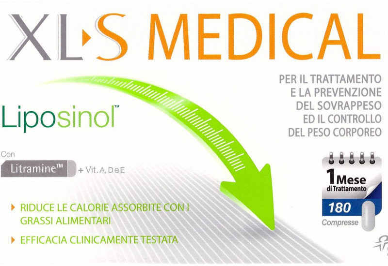 Xls medical liposinol per dimagrire